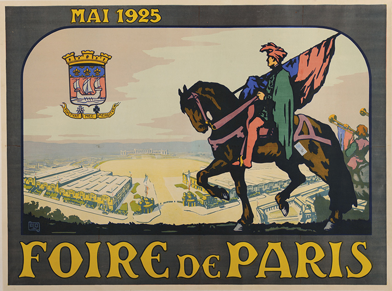 Saphir Medaille D'or 1925 Paris